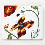 Mousepad de la mariposa alfombrillas de raton
