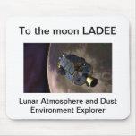 Mousepad de la misión de la luna de LADEE Alfombrilla De Ratón