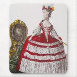 ~ Mousepad de la moda de Marie Antonieta