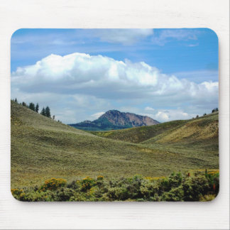 Mousepad de la montaña y de la nube