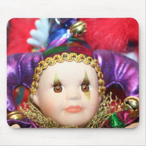 Mousepad de la muñeca del carnaval tapete de ratón