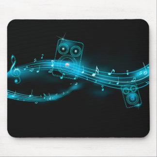 Mousepad de la música de Abstrac Alfombrillas De Ratón