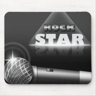 Mousepad de la música de la estrella del rock