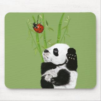 mousepad de la panda del bebé alfombrillas de ratones
