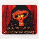 Mousepad de la parodia de Diablo