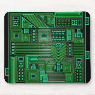 Mousepad de la placa de circuito
