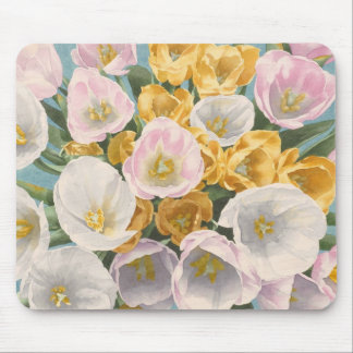 Mousepad de la rabieta del tulipán tapete de ratones