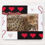 Mousepad de la tarjeta del día de San Valentín del Tapete De Raton