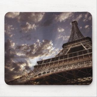 Mousepad de la torre Eiffel Alfombrillas De Ratón