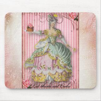 Mousepad de la torta de Marie Tapetes De Ratones