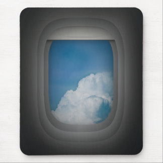 mousepad de la ventana del aeroplano