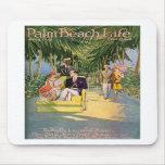 Mousepad de la vida #10 del Palm Beach Tapete De Raton