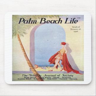 Mousepad de la vida #18 del Palm Beach Alfombrilla De Ratones