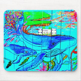 mousepad de las ballenas jorobadas tapetes de ratón