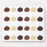 Mousepad de las calabazas de otoño alfombrilla de ratones