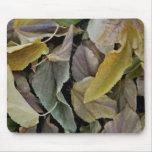 mousepad de las hojas de otoño tapete de raton