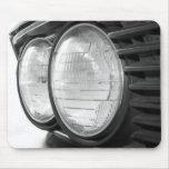 mousepad de las linternas de BMW del vintage Alfombrilla De Ratón