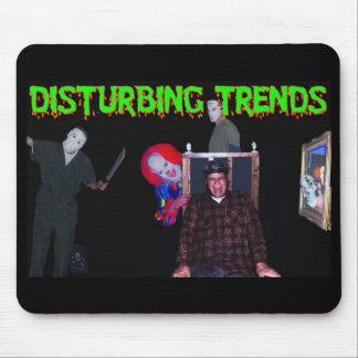 Mousepad de las tendencias que perturban