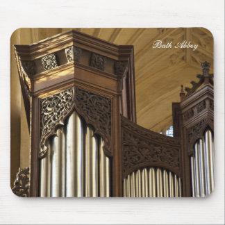 Mousepad de las torres del órgano de la abadía del