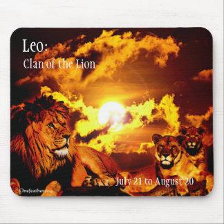 Mousepad de Leo