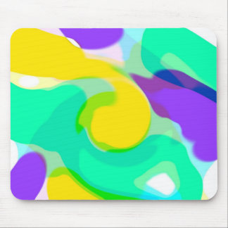 Mousepad de los colores que remolina tapete de ratones