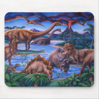 Mousepad de los dinosaurios tapetes de raton