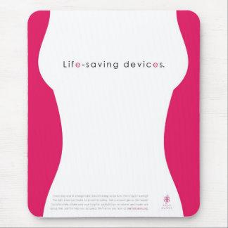 mousepad de los dispositivos del Vivo-ahorro Tapete De Ratón