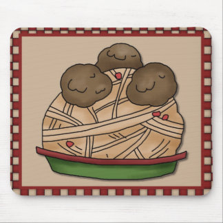 mousepad de los espaguetis