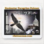 Mousepad de los halcones de Rochester Tapetes De Ratones