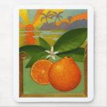 Mousepad de los naranjas tapetes de raton