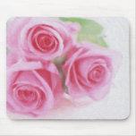 mousepad de los rosas tapete de ratón