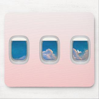mousepad de los winows del cerdo/del aeroplano del