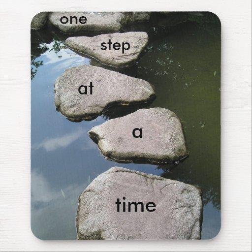 Mousepad de motivación del puente de piedra alfombrilla de raton