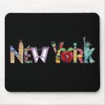 Mousepad de Nueva York Tapetes De Ratón