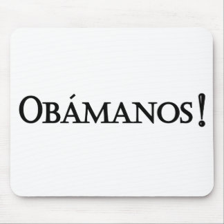 Mousepad de Obamanos Tapetes De Raton