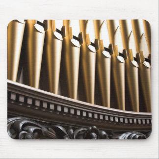 Mousepad de oro de los tubos