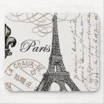 Mousepad de París del vintage… Alfombrillas De Raton