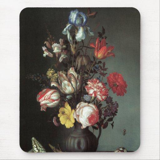 Mousepad de pintura floral #2