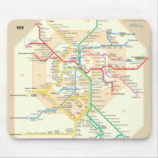 Mousepad de RER París