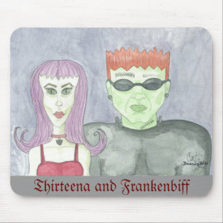 Mousepad de Thirteena y de Frankenbiff Tapetes De Raton