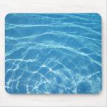 mousepad del agua de la piscina tapete de ratones