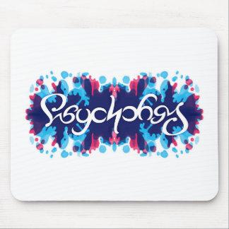 Mousepad del ambigram de la psicología tapete de raton
