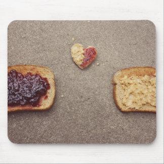 mousepad del amor del pb&j