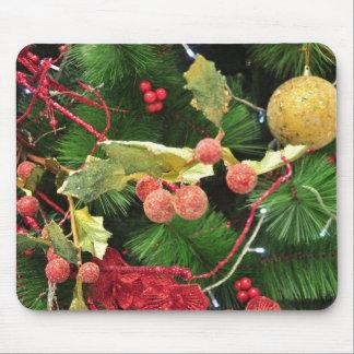 mousepad del árbol de navidad tapete de ratón