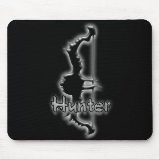 mousepad del arco del cazador