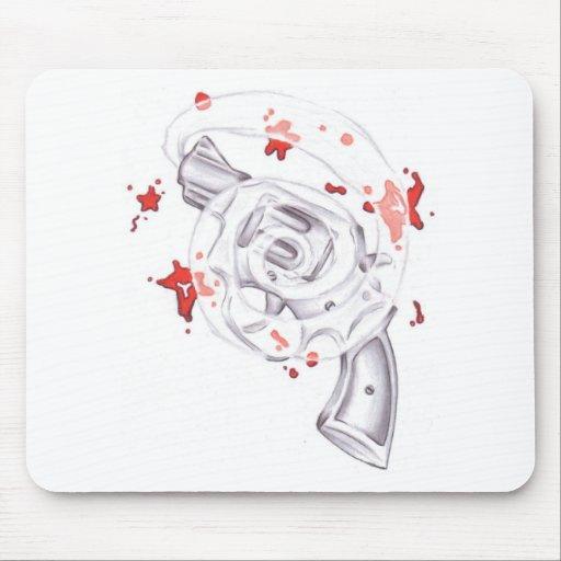 mousepad del arma tapetes de raton