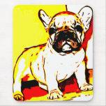 Mousepad del arte del dogo francés tapetes de raton
