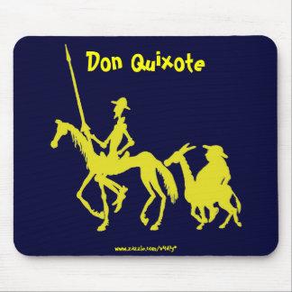 Mousepad del arte gráfico del Don Quijote y de San Tapetes De Ratones