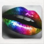 Mousepad del artista de maquillaje de los labios d