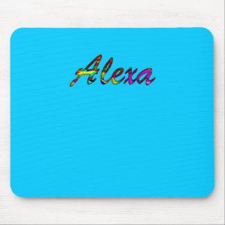 Mousepad del azul de Alexa Alfombrillas De Raton